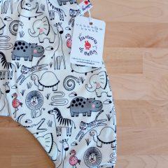 Sarouel en jersey de coton magique oekotex