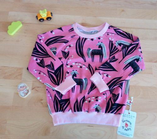 Tshirt jersey bio biologique licorne