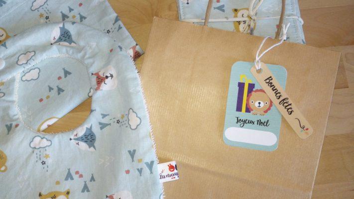 étiquette cadeau noel les reveries de Noelly