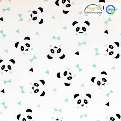 coton oekotex panda