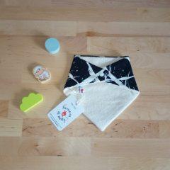 bavoir bandana bébé bio biologique motif street